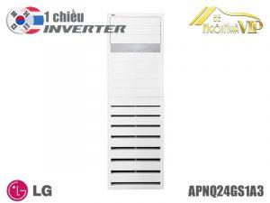 Điều hòa tủ đứng LG APNQ24GS1A3/APUQ24GS1A3 Inverter 1 chiều 24000 BTU chính hãng