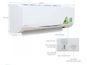 Điều hòa treo tường Daikin FTKC60QVMV/RKC60QVMV Inverter 1 chiều 21000 BTU