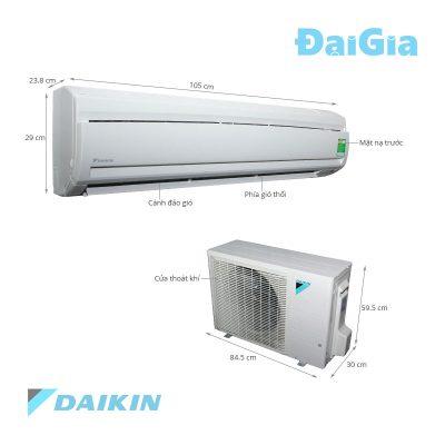 Điều hòa treo tường Daikin FTNE60MV1V/RNE60MV1V 1 chiều 21000 BTU