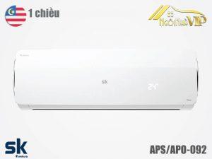 Điều hòa Sumikura APS/APO-092 1 chiều 9000 BTU Titan nhập khẩu chính hãng