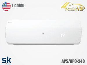 Điều hòa Sumikura APS/APO-240 1 chiều 24000 BTU Titan nhập khẩu chính hãng