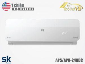 Điều hòa Sumikura APS/APO-240DC 1 chiều 24000 BTU Inverter nhập khẩu chính hãng