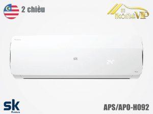 Điều hòa Sumikura APS/APO-H092 2 chiều 9000 BTU Titan nhập khẩu chính hãng