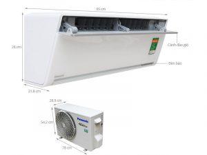 Điều hòa treo tường Panasonic VU9SKH-8 Inverter 1 chiều 9000 BTU